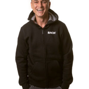 Men's zipped hoodie BACH®