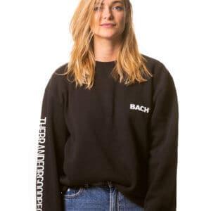 Women's Hoodie BACH® with Claim on sleeve